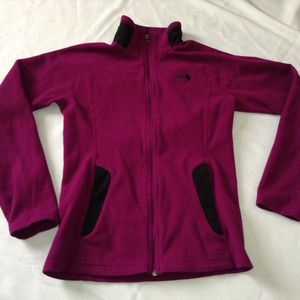 THE NORTH FACE Fleece Purple Jacket XS
